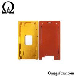 قیمت خرید شابلون فلزی و پد سیکونی تعویض گلس آیفون مدل iPhone 6, 6S