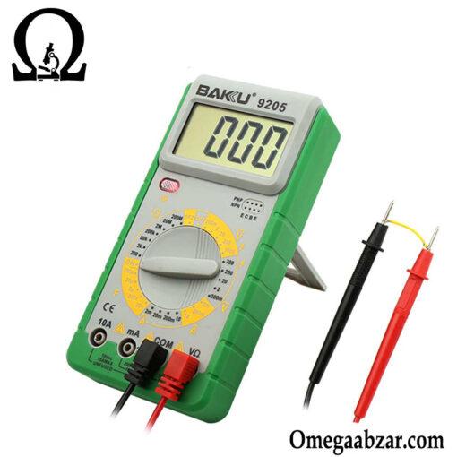 قیمت خرید مولتی متر مدل باکو BAKU BK-9205 2