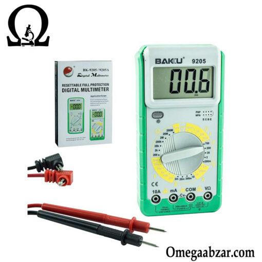 قیمت خرید مولتی متر مدل باکو BAKU BK-9205 4