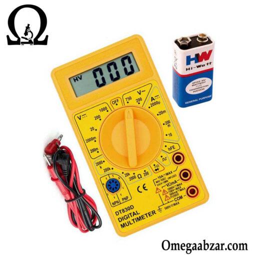 قیمت خرید مولتی متر مدل FINEARTS DT-830D 1