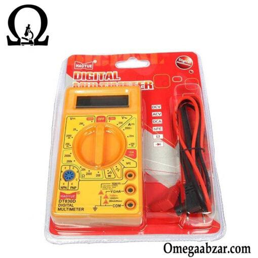 قیمت خرید مولتی متر مدل FINEARTS DT-830D 3