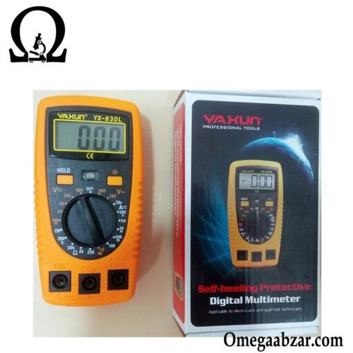 قیمت خرید مولتی متر یاکسون مدل Yaxun YX-830L